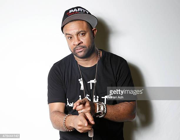 Shaggy attends 1035 KTU's KTUphoria 2015 Backstage at Nikon at Jones Beach Theater on May 31 2015 in Wantagh New York