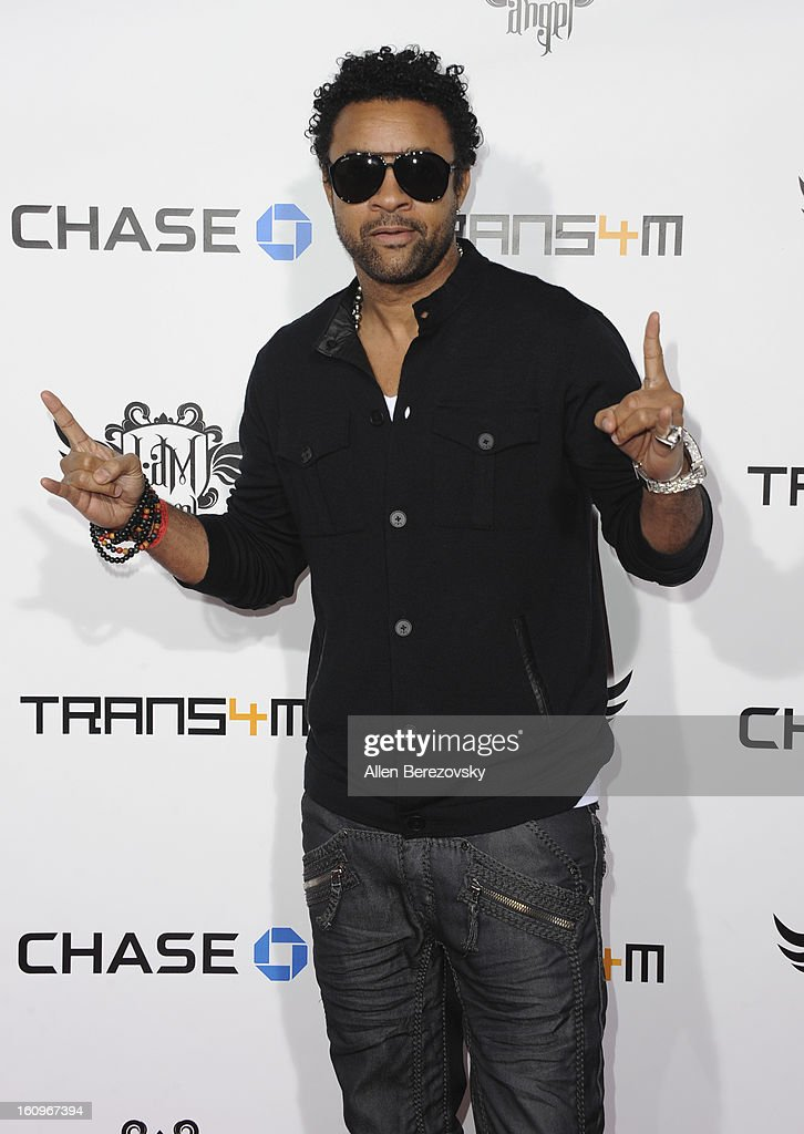 <a gi-track='captionPersonalityLinkClicked' href=/galleries/search?phrase=Shaggy+-+Singer&family=editorial&specificpeople=210859 ng-click='$event.stopPropagation()'>Shaggy</a> attends Will.I.Am's Annual TRANS4M Concert Benefitting I.Am.Angel Foundation - Red Carpet on February 7, 2013 in Hollywood, California.