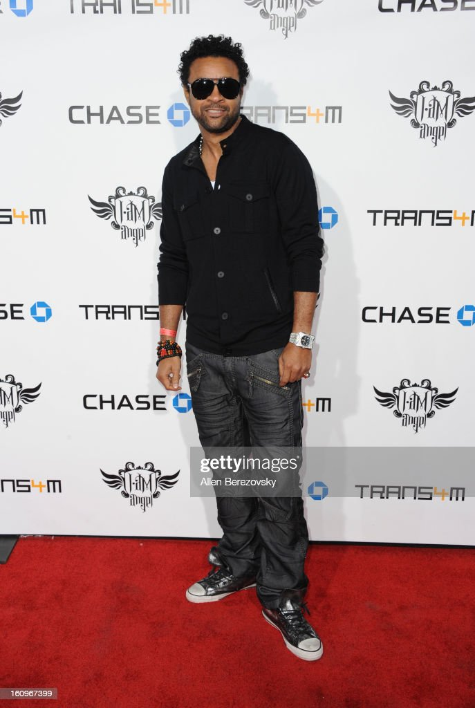 <a gi-track='captionPersonalityLinkClicked' href=/galleries/search?phrase=Shaggy+-+Singer&family=editorial&specificpeople=210859 ng-click='$event.stopPropagation()'>Shaggy</a> attends <a gi-track='captionPersonalityLinkClicked' href=/galleries/search?phrase=Will.I.Am&family=editorial&specificpeople=203050 ng-click='$event.stopPropagation()'>Will.I.Am</a>'s Annual TRANS4M Concert Benefitting I.Am.Angel Foundation - Red Carpet on February 7, 2013 in Hollywood, California.