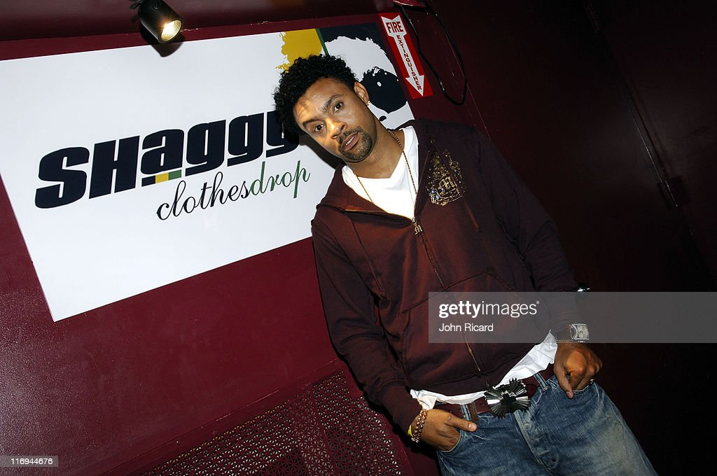 """Shaggy on the Set of """"Broadway"""" Music Video - October 17, 2005"""
