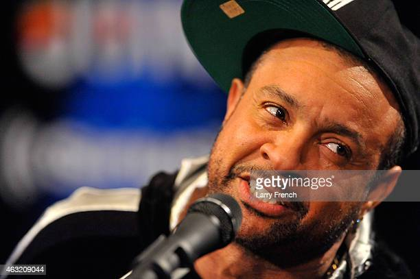 Shaggy of Shaggy's band performs In Studio During The SiriusXM Reggae Session On The Joint on February 11 2015 in Washington DC