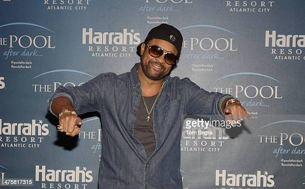 Shaggy performs at The Pool After Dark at Harrah's Resort on Friday February 28 2014 in Atlantic City New Jersey
