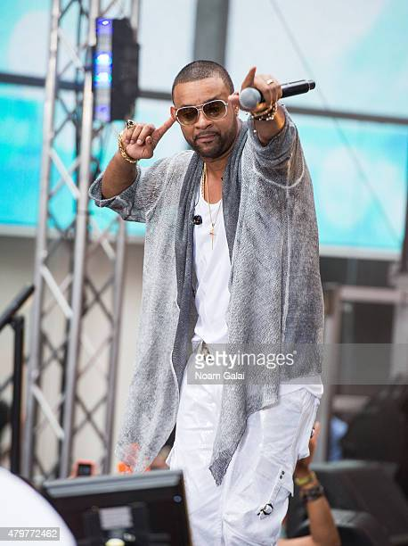 Shaggy performs on NBC's 'Today' at Rockefeller Plaza on July 7 2015 in New York City