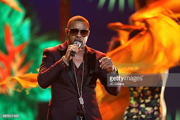 Shaggy performs onstage during Telemundo's Latin American Music Awards 2015 at Dolby Theatre on October 8 2015 in Hollywood California