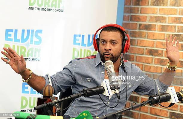 Shaggy visits 'The Elvis Duran Z100 Morning Show' at Z100 Studio on May 4 2015 in New York City