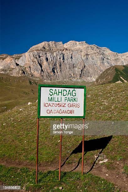 Shah Dag National Park (Azerbaijan-Russian Border)