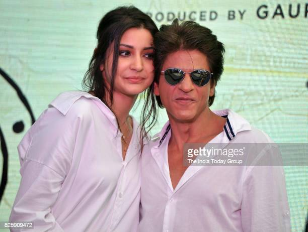 Shah Rukh Khan and Anushka Sharma during a launch of 'Hawayein' a song from their upcoming film 'Jab Harry Met Sejal' in Mumbai