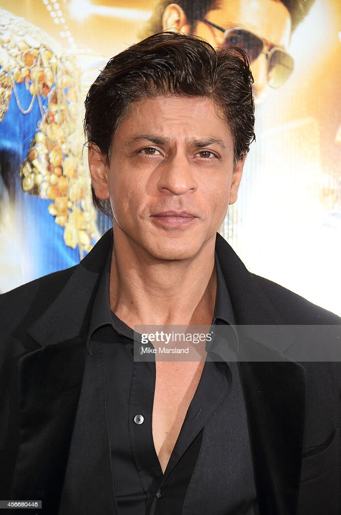 <a gi-track='captionPersonalityLinkClicked' href=/galleries/search?phrase=Shah+Rukh+Khan&family=editorial&specificpeople=664337 ng-click='$event.stopPropagation()'>Shah Rukh Khan</a> attends a photocall for 'Happy New Year' at Montcalm Marble Arch on October 5, 2014 in London, England.