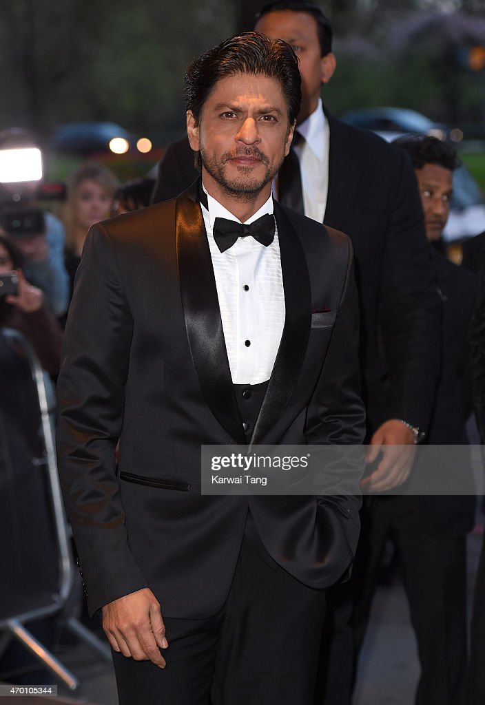 Shah Rukh Khan attends The Asian Awards 2015 at The Grosvenor House Hotel on April 17, 2015 in London, England.