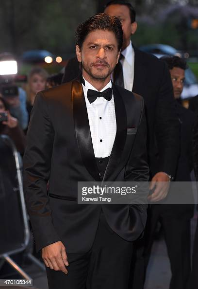 Shah Rukh Khan attends The Asian Awards 2015 at The Grosvenor House Hotel on April 17 2015 in London England