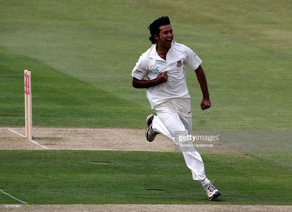 England v Bangladesh: 1st npower Test - Day Two
