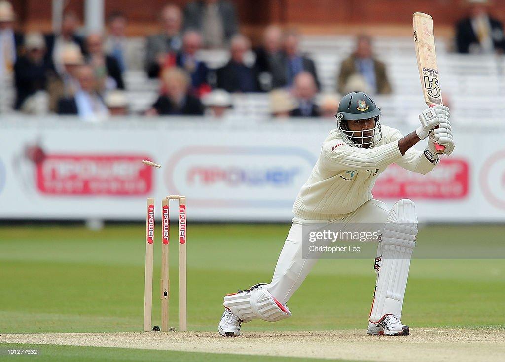 England v Bangladesh: 1st npower Test - Day Four