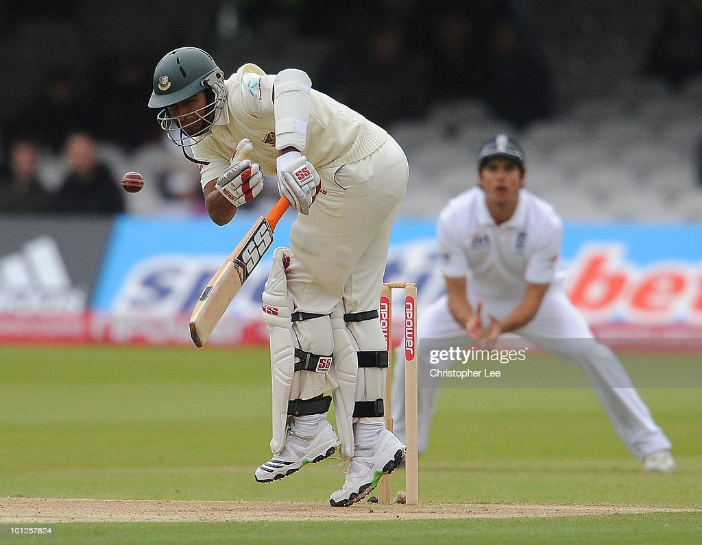 England v Bangladesh: 1st npower Test - Day Three
