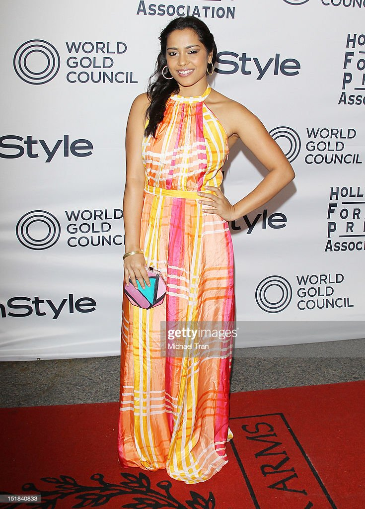 Shahana Goswami arrives at the Instyle and the Hollywood Foreign Press Association Party during the 2012 Toronto International Film Festival held at Windsor Arms Hotel on September 11, 2012 in Toronto, Canada.