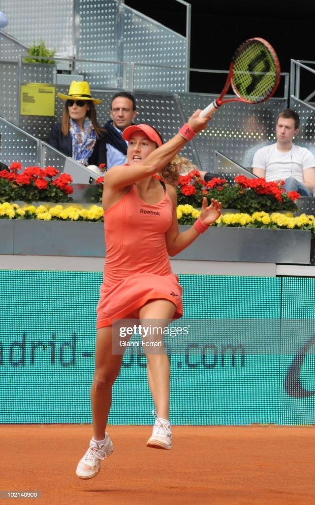 Shahar Peer, ISR, tennis in 'Mutua Madrilena Madrid Open' , 8th May 2010, in 'La Caja Magica'. Madrid, Spain.