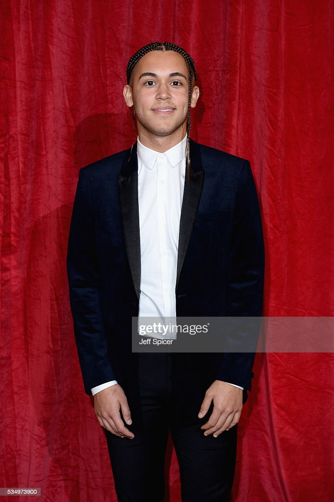 Shaheen Jafarghol attends the British Soap Awards 2016 at Hackney Empire on May 28, 2016 in London, England.