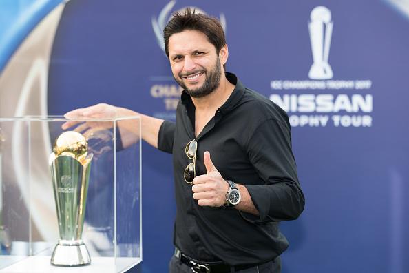 ICC Champions Trophy Tour Launch : News Photo
