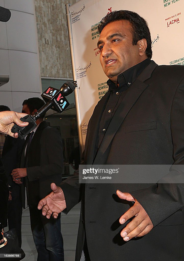 Shahin Yousefzamani attends the 2013 Farhang Foundation Short Film Festival held at the Bing Theatre at LACMA on March 16, 2013 in Los Angeles, California.