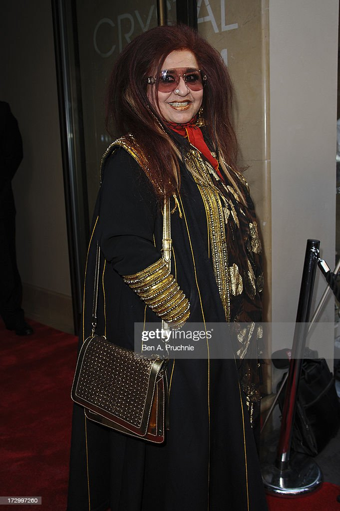 Shahnaz Husain attends the gala screening of 'Bhaag Milkha Bhaag' at The Mayfair Hotel on July 5, 2013 in London, England.
