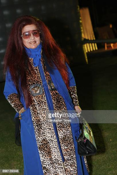 Shahnaz Husain CEO of Shahnaz Herbals Inc during the screening of a biography based on Munda's life a tribute to tribal leader and freedom fighter...