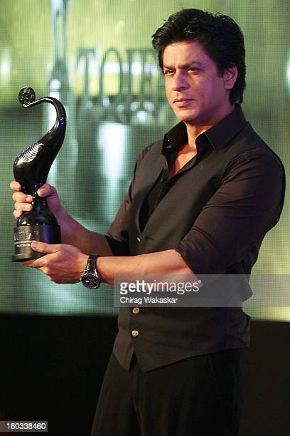 Shahrukh Khan attends press conference to announce the Times of India Film Awards Vancouver at Taj Land's End on January 29 2013 in Mumbai India