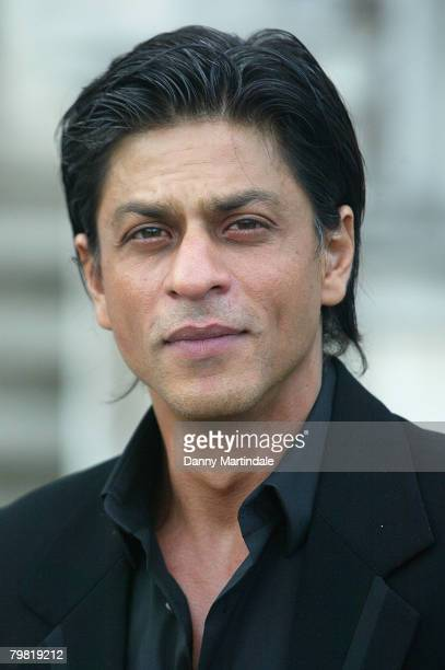 Shahrukh Khan attends the World Premiere of Bollywood Film `Chak de India' on August 9 2007 in London England
