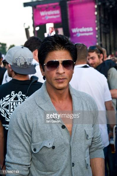 Shahrukh Khan attends Wireless with Barclaycard at Hyde Park on July 1 2011 in London England