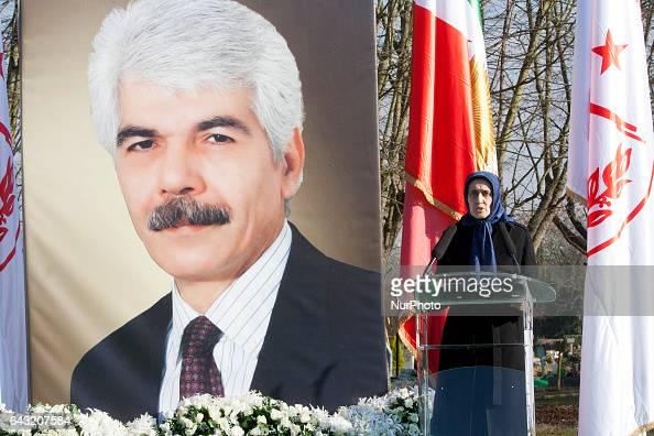 Shahrzad Sadr during Funeral MohammadAli Jaberzadeh NCRI in Paris France on 18 February 2017 MohammadAli Jaberzadeh one of the most seasoned and...