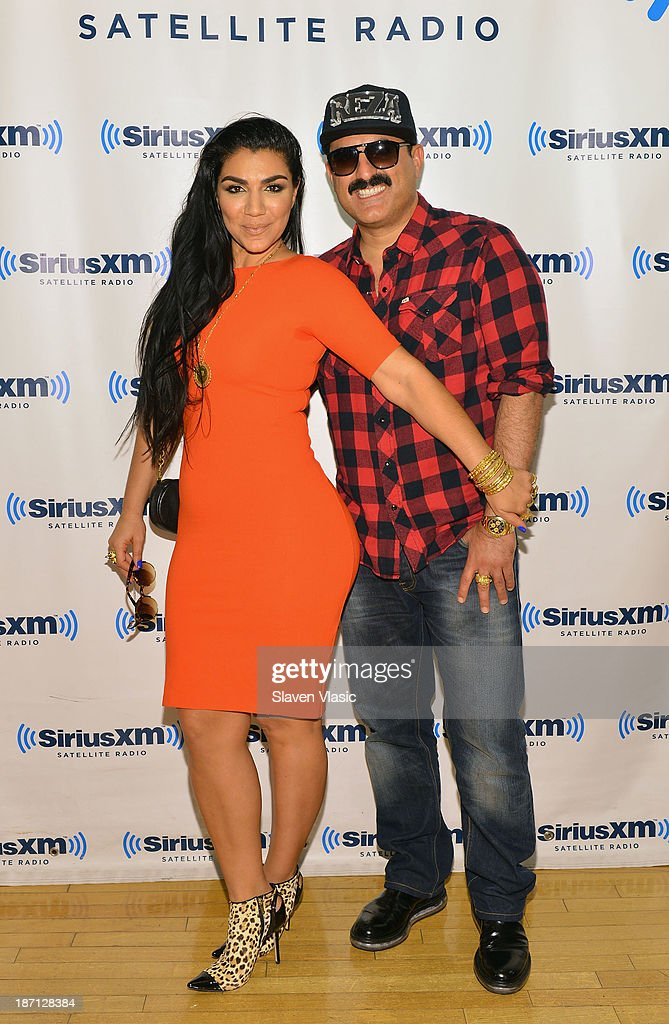 Shahs of Sunset cast members Asa Soltan Rahmati (L) and <a gi-track='captionPersonalityLinkClicked' href=/galleries/search?phrase=Reza+Farahan&family=editorial&specificpeople=9012581 ng-click='$event.stopPropagation()'>Reza Farahan</a> visit SiriusXM Studios on November 6, 2013 in New York City.