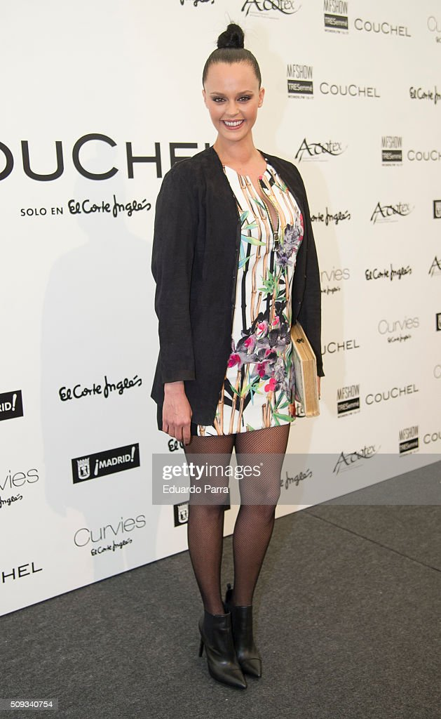 <a gi-track='captionPersonalityLinkClicked' href=/galleries/search?phrase=Shaila+Durcal&family=editorial&specificpeople=4619751 ng-click='$event.stopPropagation()'>Shaila Durcal</a> attends Couchel fashion show photocall at Colon Square on February 10, 2016 in Madrid, Spain.