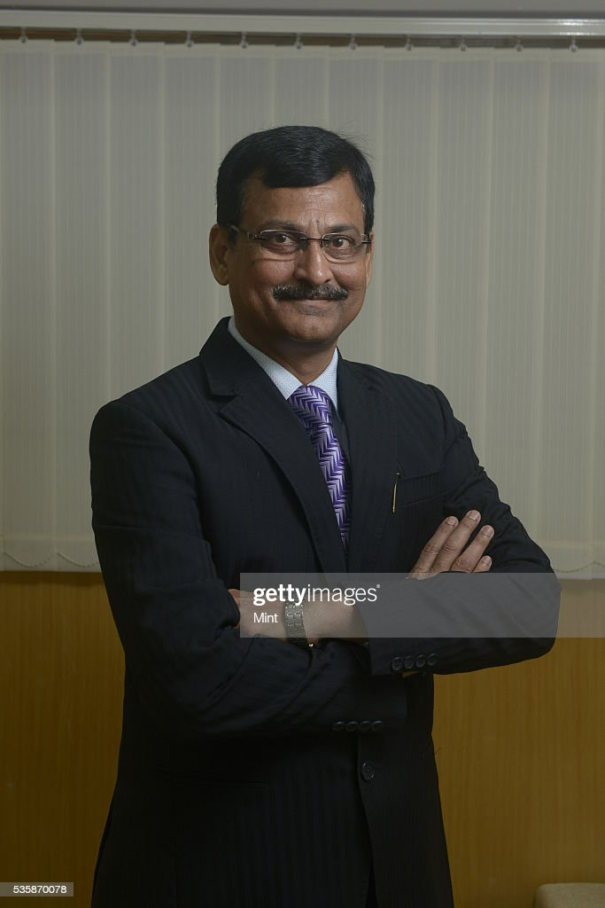 Shailendra Kumar, MD and CEO of SBI pensions fund Pvt. Limited, poses during an exclusive interview on December 11, 2015 in Mumbai, India.