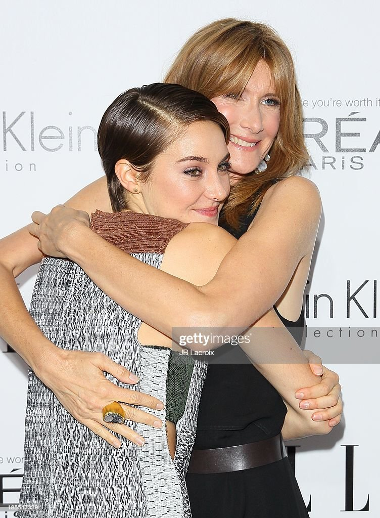 Shailene Woodley and Laura Dern attend the 20th Annual ELLE Women In Hollywood held at Four Seasons Hotel Los Angeles at Beverly Hills on October 21, 2013 in Beverly Hills, California.