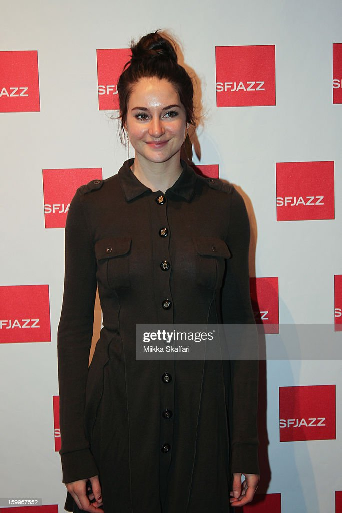 Shailene Woodley at SFJAZZ Center on January 23, 2013 in San Francisco, California.