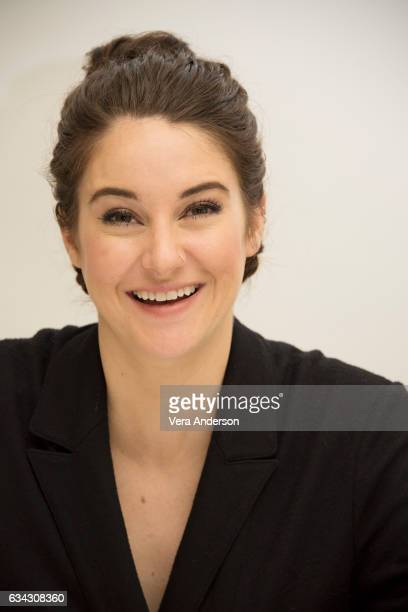 Shailene Woodley at the 'Big Little Lies' Press Conference at the Four Seasons Hotel on February 7 2017 in Beverly Hills California