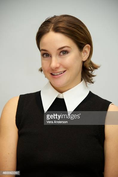 Shailene Woodley at the 'Insurgent' Press Conference at the Four Seasons Hotel on March 6 2015 in Beverly Hills California