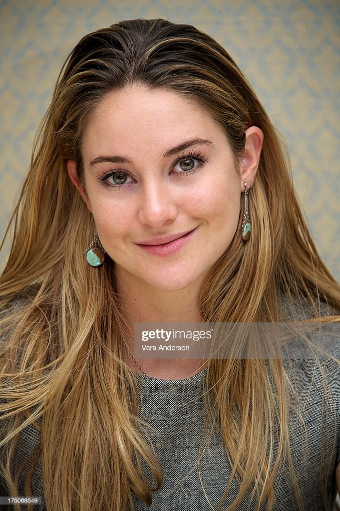 <a gi-track='captionPersonalityLinkClicked' href=/galleries/search?phrase=Shailene+Woodley&family=editorial&specificpeople=676833 ng-click='$event.stopPropagation()'>Shailene Woodley</a> at 'The Spectacular Now' Press Conference at the Four Seasons Hotel on July 30, 2013 in Beverly Hills, California.