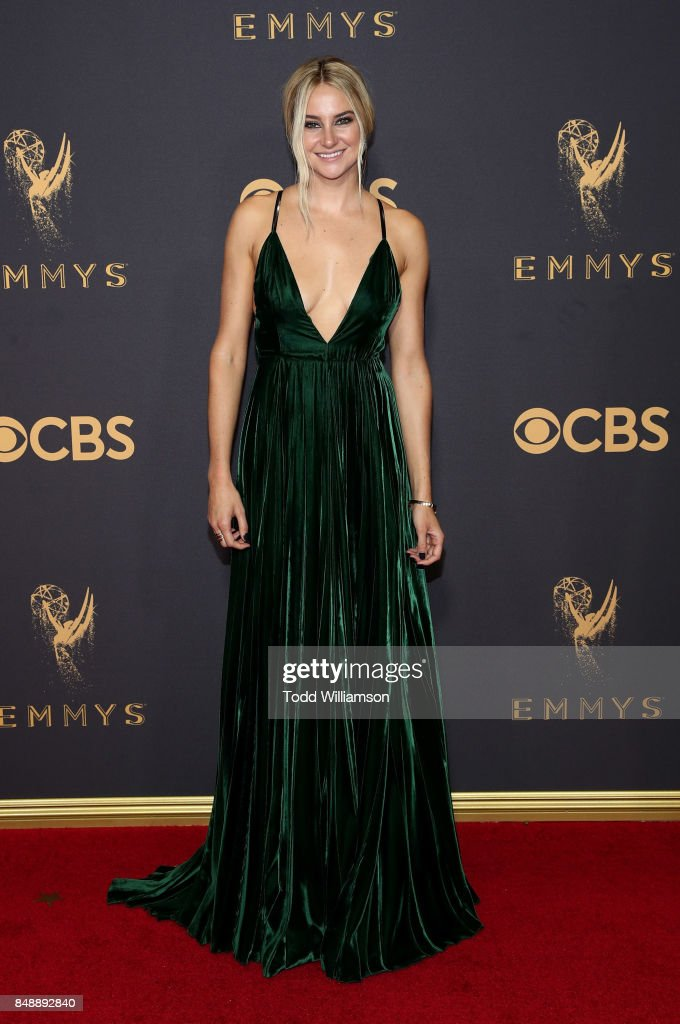 Shailene Woodley attends the 69th Annual Primetime Emmy Awards at Microsoft Theater on September 17, 2017 in Los Angeles, California.