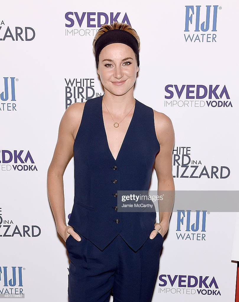 Shailene Woodley attends the 'White Bird In A Blizzard' New York Screening at Sunshine Landmark on October 15 2014 in New York City