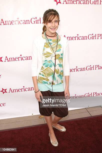 Shailene Woodley during American Girl Store Opening at the Grove in Hollywood Arrivals at The Grove in Hollywood California United States