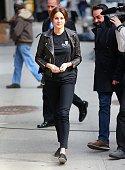 Shailene Woodley is seen on March 16 2015 in New York City