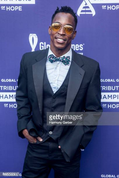 Shaka Smith attends the Global Genes' 6th Annual Tribute To Champions Of Hope Awards at City National Grove of Anaheim on September 16 2017 in...