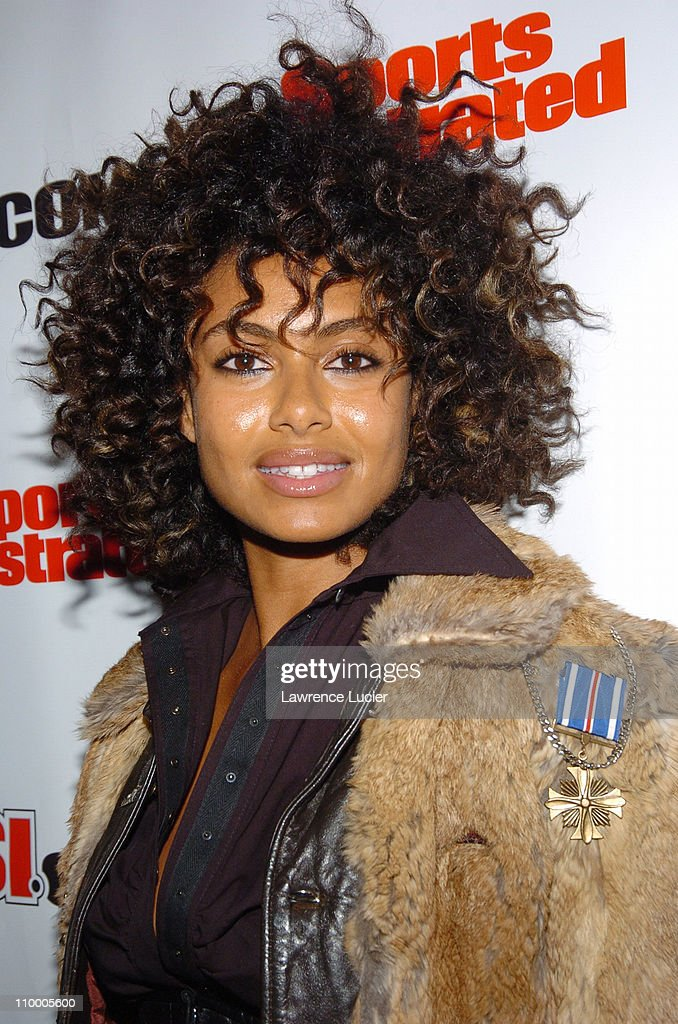 Shakara Ledard during Sports Illustrated 2005 Swimsuit Issue - Press Conference at AER Lounge in New York City, New York, United States.