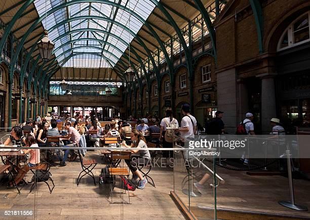 Shake Shack Restaraunt at Covent Garden market, London, England, UK.