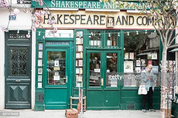 Shakespeare et de la librairie à Paris (France