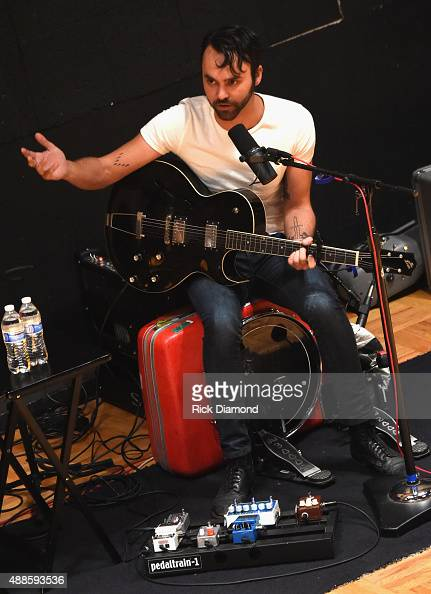 Shakey Graves performs during 16th Annual Americana Music Festival Conference Day 2 NPR hosts 'SONGS WE LOVE at RCA Grand Victor Studio A on...