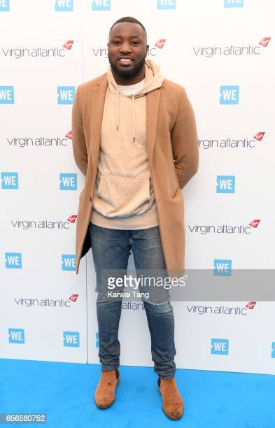 Shakii attends WE Day UK at The SSE Arena on March 22 2017 in London United Kingdom