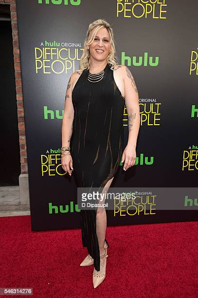 Shakina Nayfack attends the 'Difficult People' New York premiere at The Metrograph on July 11 2016 in New York City