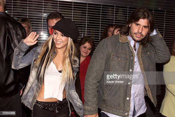 Shakira and boyfriend Antonio de la Rua at the El Rey Theater in Los Angeles to help Mick Jagger celebrate the release of his new solo album 'Goddess...