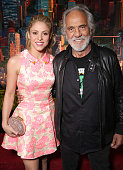 Shakira and Tommy Chong attend the premiere Of Walt Disney Animation Studios' 'Zootopia' at the El Capitan Theatre on February 17 2016 in Hollywood...
