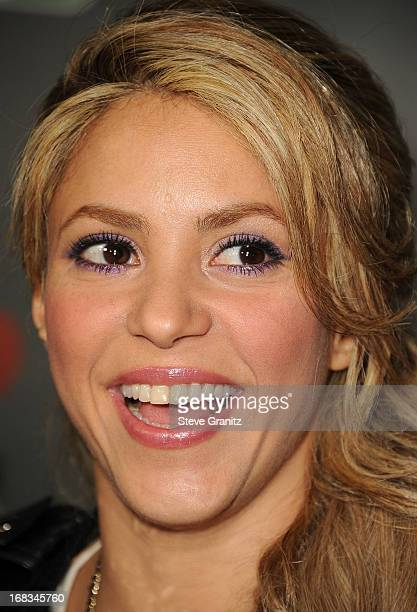 Shakira arrives at the NBC's 'The Voice' Season 4 Premiere at House of Blues Sunset Strip on May 8 2013 in West Hollywood California